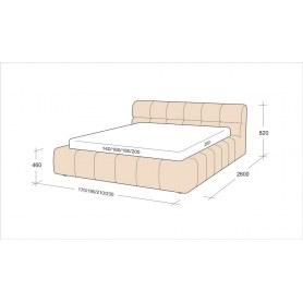 Кровать Флоренция 5 (1400)