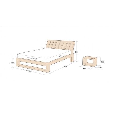 Кровать Флоренция 7 (1400)