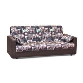 Прямой диван Акварель 4 БД