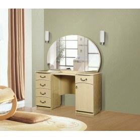 Туалетный столик №4, Ивушка-5, цвет Дуб беленый