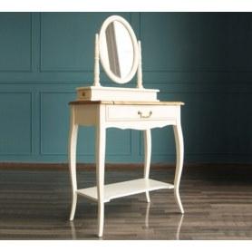 Туалетный столик Leontina с зеркалом (ST9321) Бежевый