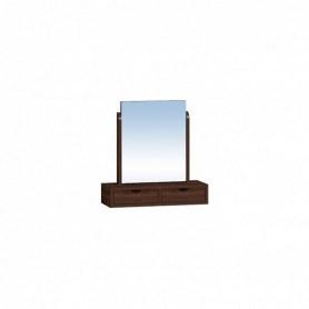Зеркало Sherlock 55 Трюмо с ящиками, Орех шоколадный