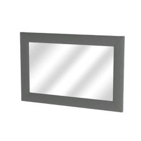 Зеркало настенное OrmaSoft 2, экокожа темно-серая