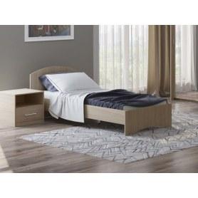 Детская кровать Этюд, 90х190, дуб шамони