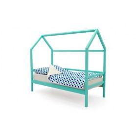 Детская кровать-домик Svogen мятный