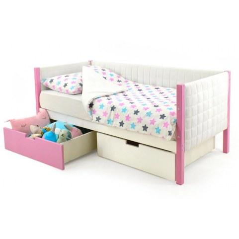 Детская кровать-тахта мягкая Skogen лаванда-белый