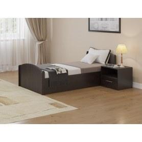 Кровать с подъемным механизмом Аккорд, 90х200, венге