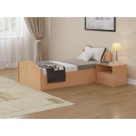 Кровать с подъемным механизмом Аккорд, 90х200, бук бавария