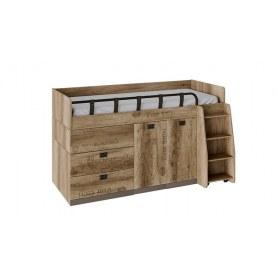 Детская кровать Пилигрим ТД-276.11.02 комбинированная