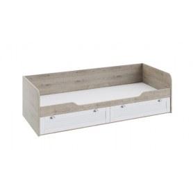 Детская кровать Ривьера ТД-241.12.01 (Дуб Бонифацио/Белый)