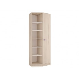 Шкаф угловой открытый Агнешка New, М2, белая лиственица