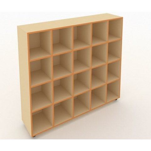 Шкаф для горшков ШГН-20 кромка оранжевый