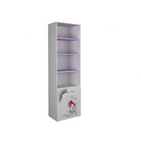 Детский шкаф Симба 600 2Д, цвет Белый/Ирис
