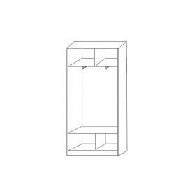 Шкаф-купе 2-х дверный ХИТ 22-4-12/2-77-12, 2200х1200х420, фотопечать