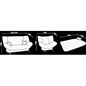Прямой диван Нео 7 ПМ
