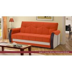 Прямой диван Сиеста 4 БД