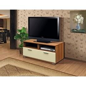 ТВ-тумба М-2, цвет Ваниль глянец, Дуб Баррик