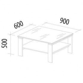 Журнальный стол Агат 29.10 лайт Дуб