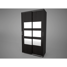 Шкаф-купе Арктур 1.2м с ящиками, плитка 12 (Венге)