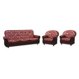 Прямой диван Элегия БД + 2 кресла (комплект)