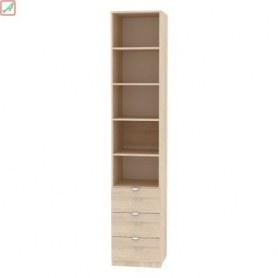 Шкаф Риал (H17) 230х45х45 ручка торцевая TR-2, Белый