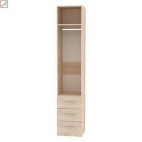 Шкаф Риал (H16) 230х45х45 ручка рейлинг, Венге