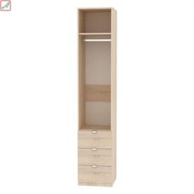 Шкаф Риал (H16) 230х45х45 ручка торцевая TR-2, Белый