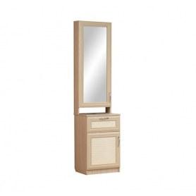 Шкаф Визит-16, VIP-6 комбинированный с зеркалом