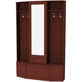 Шкаф 600 с зеркалом, цвет Итальянский Орех
