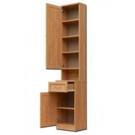 Шкаф в прихожую ПР1 с ящиком, цвет Молочный дуб