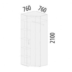 Шкаф угловой Фреска 48.04