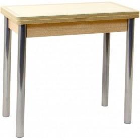 Кухонный обеденный стол Мюнхен-2 (ноги дерево) (белый дуб)