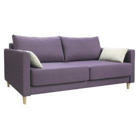 Прямой диван Юстин, ромео06винный/ромео02св.беж