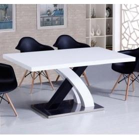 Кухонный стол раскладной DT75 белый