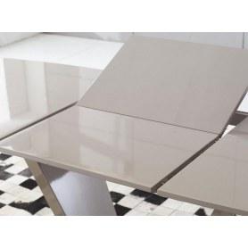 Кухонный стол-трансформер HT-2135 кремовый