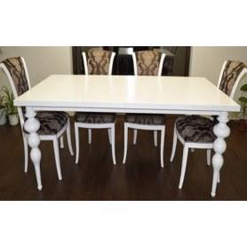 Обеденный стол Итальянский Белая эмаль
