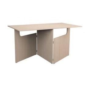 Кухонный стол ХИТ -СО-8 складной, Дуб молочный