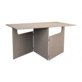 Кухонный стол ХИТ -СО-6 складной, Ясень шимо светлый