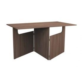 Кухонный стол ХИТ -СО-8 складной, Ясень шимо темный