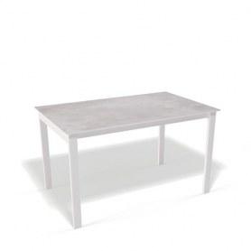 Кухонный раздвижной стол Kenner E1300 (Белый/Цемент)
