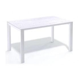 Кухонный стол Kenner LE1200 белый/сосна белая