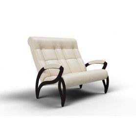 Прямой диван Зельден, экокожа крем
