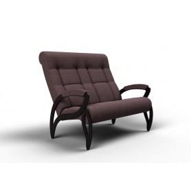 Прямой диван Зельден, ткань кофе с молоком