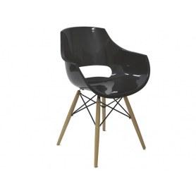 Кухонный стул PW-022 чёрный
