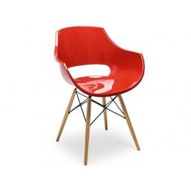 Кухонный стул PW-022 красный