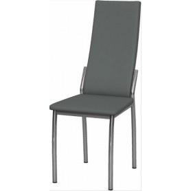 Обеденный стул Асти хром (Nitro Grey)