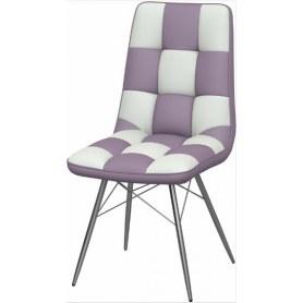 Обеденный стул Бордо-2 2-х цветный (Nitro Purple - White)