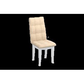 Обеденный стул Ричард с резными опорами (Лекко Лайт Беж/Белый)