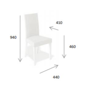 Кухонный стул Kenner 101M бук/бежевый