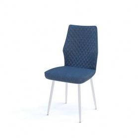 Кухонный стул Kenner 126S белый/синий